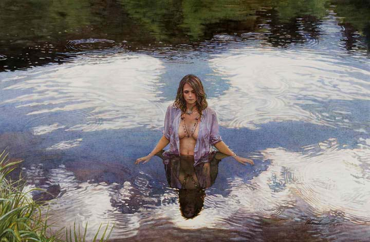 steve hanks original paintings