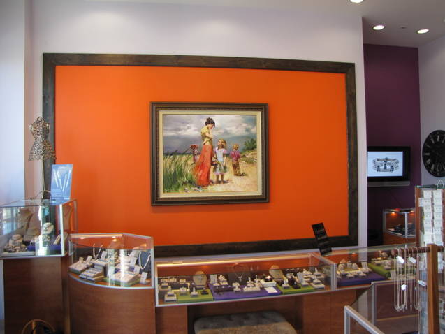 Pino Art at Manya Jewelers from J Watson Fine Art